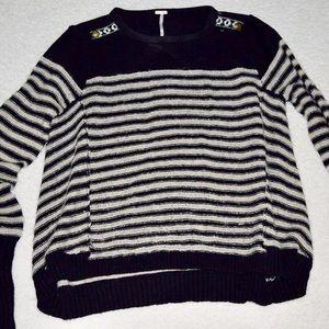 Medium Free People Striped Sweater